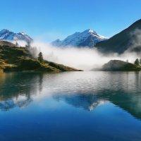 Млечною мягкостью манит туман :: Elena Wymann