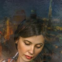 Отражение в окне :: Андрей Володин