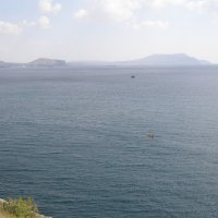 Вид на море с Голицынской тропы Можжевеловой рощи :: Анна Воробьева
