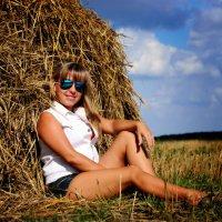 ....поле,сено.... :: Ольга Стёпочкина