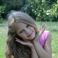 Красивоглазая моя сестрёнка :: Анастасия Веременко