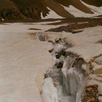 Маленькая трещина на леднике :: Виктор Осипчук