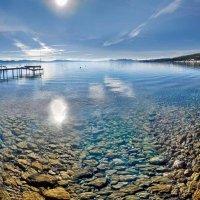 зимний берег озера Тахо :: viton