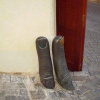и такие скульптуры бывают... :: Елена Аксамит