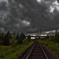 Мгла над Русью, но не эти тучи... :: Дмитрий Алдухов