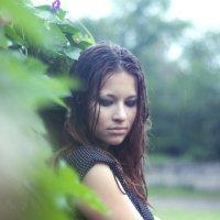 Под дождем :: Екатерина Трифонова