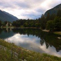 Озеро Кара-Кель в Теберде :: Наталья Лебедева