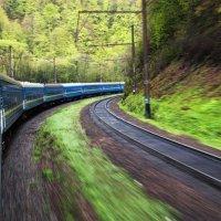 Из поезда. :: Игорь Емельянов