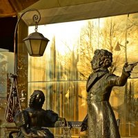Памятник Пушкину. Подгорица.Черногория. :: Anasta Petrova
