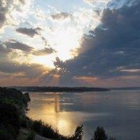 Волжские закаты :: галина северинова