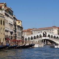 Мост Риальто в Венеции. :: Ольга
