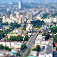 Екатеринбург на блюдечке :: Евгений Чайковский
