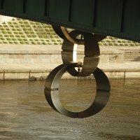 Кольца под мостом в Вильнюсе :: esadesign Егерев