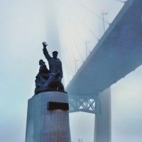 Мемориал морякам торгового флота во Владивостоке :: Евгений Поварёнков