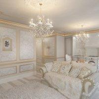Дизайн-проект Золотая классика :: Ирина Фефелова
