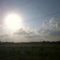 Игривое солнце :: Анна Ишкаева
