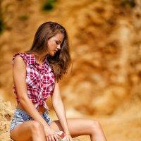 Girl on sand :: Катя Краска