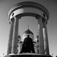 Москва. Храм Христа Спасителя. :: Виталий Виницкий