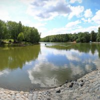 пруд парк Тропарево Никулино :: юрий макаров