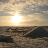 вскрывая льды (Финский залив) :: Дмитрий Родышевцев