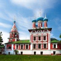 Храм цесаревича Дмитрия на Крови, Углич :: Антон Лебедев