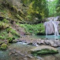 Лесной водопадик :: Алена Бадамшина