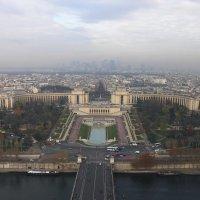 Париж - вид с Эйфелевой башни :: Kamyshlov Victor