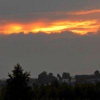 Последний миг заката :: Евгений Жиляев