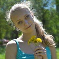 Одуванчики :: Анастасия Фадеева