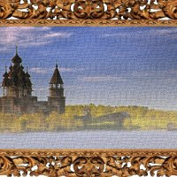 Пейзаж с храмом :: Nikolay Monahov