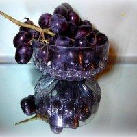 Чёрный виноград. :: nadyasilyuk Вознюк