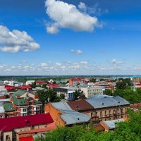 Вид с высоты птичьего полёта :: Милешкин Владимир Алексеевич