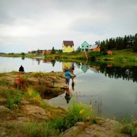 Утренняя рыбалка . :: Мила Бовкун