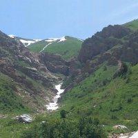 Ледник на пути Б.Чимган :: гарифуллина нурия сагадатовна