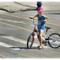 Катание на велосипеде. :: Anatol Livtsov