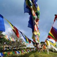 Непал. Молитвенные флаги :: Gal` ka