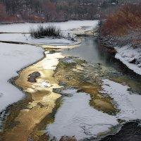 Последний спор реки со льдом... :: Лесо-Вед (Баранов)