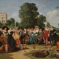 Дирк Халс, Веселая компания, 1627, Рейксмузеум, Амстердам :: Елена Павлова (Смолова)
