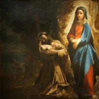 Лодовико Карраччи (1555 - 1619). Видение святого Франциска, 1583-1585 :: Елена Павлова (Смолова)