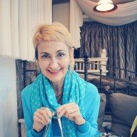 портрет в синем :: Светлана