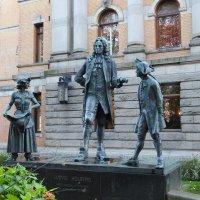 Памятник Людвигу Хольбергу в Осло :: Natalia Harries