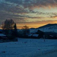 Малый Бащелак ранним утром :: Кристина Воробьева