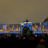 Световое шоу на Дворцовой площади :: Игорь Кудрявцев