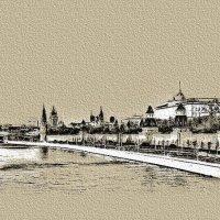 Москва. Башни Кремля. :: В и т а л и й .... Л а б з о'в