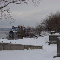 ...декабрь на Волге :: марина ковшова