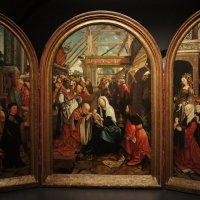 Остзанен Якоб Корнелис, также Якоб ван Амстердам (около 1472-1533). Поклонение волхвов :: Елена Павлова (Смолова)