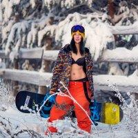 Горячий сноубординг или как плавился снег:-) :: Вячеслав Ложкин