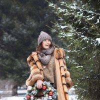 Прогулка в парке :: Яна Спирина