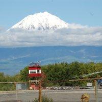 Сопка Авачинского вулкана на Камчатке. :: Игорь Кудрявцев