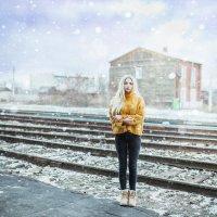 Девушка на вокзале :: Кира Пустовалова - Степанова